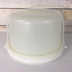Tupperware Cake Carrier Round